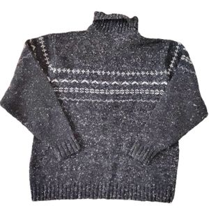 Windriver Turtleneck Lambswool Knit Sweater 2XL